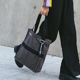 [로아드로아] AH CHOO SHOULDER BAG (D.GRAY) 숄더백 가방