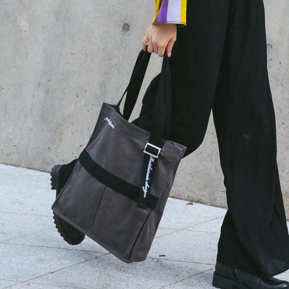 [로아드로아]ROIDESROIS - AH CHOO SHOULDER BAG (D.GRAY) 숄더백 가방