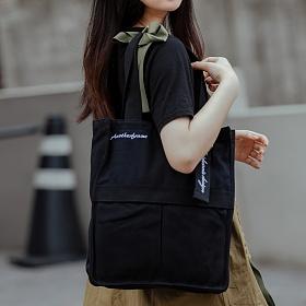 [로아드로아]ROIDESROIS - AH CHOO SHOULDER BAG (BLACK) 숄더백 가방 에코백