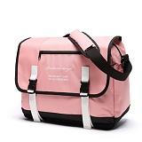 [로아드로아]ROIDESROIS - CLAP CLAP MESSENGER BAG (PINK) 메신저백 가방 메신져백 크로스백