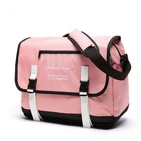 [로아드로아] CLAP CLAP MESSENGER BAG (PINK) 메신저백 가방 메신져백 크로스백