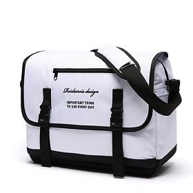 [로아드로아]ROIDESROIS - CLAP CLAP MESSENGER BAG (WHITE) 메신저백 가방 메신져백 크로스백