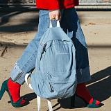[로아드로아]ROIDESROIS - CHOP CHOP BACKPACK (DENIM) 백팩 가방 데이백 무지백팩 찹찹백팩