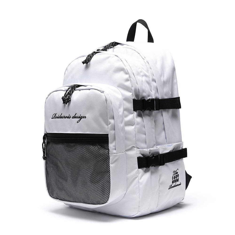 [4월25일 예약판매][로아드로아] OH OOPS BACKPACK (WHITE) 백팩 가방 오웁스백팩 망사백팩 메쉬백팩