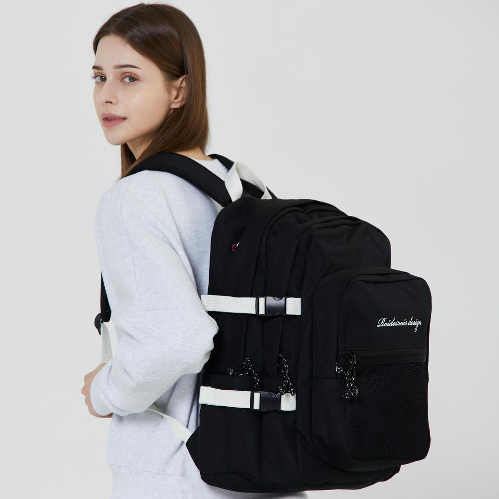 [로아드로아] OH OOPS BACKPACK (BLACK) 백팩 가방 오웁스백팩 망사백팩 메쉬백팩 학생가방 신학기