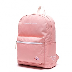 [로아드로아] YUM YUM BACKPACK (PINK) 백팩 가방 데이백 무지백팩 얌얌백팩 학생가방 신학기