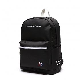 [로아드로아] YUM YUM BACKPACK (BLACK) 백팩 가방 데이백 무지백팩 얌얌백팩 학생가방 신학기