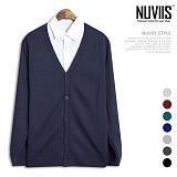 [뉴비스] NUVIIS - 무지 심플 가디건 (SM014CD)