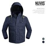 [뉴비스] NUVIIS - 모직덤블링 패딩점퍼 (WS037PD)