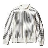 [챔피온]Champion - Reverse Turtleneck Sweatshirt (C3-J006) Off White 목티 목폴라 터틀넥 기모 맨투맨 스��셔츠