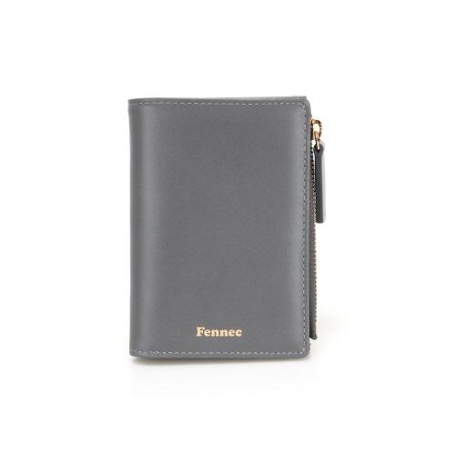 [페넥]Fennec Fold Wallet 002 Grey 폴드 지퍼지갑