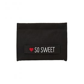 [썸띵어쿠스틱]So Sweet 2-way Clutch Bag_Black 미니 클러치 크로스백