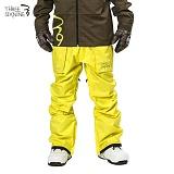 [티에스엔] 피커 팬츠 옐로우 보드복 남녀공용