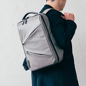 [에이지그레이]AGEDGRAY - AI06FCG Shadow 노트북 백팩 그레이 학생가방 신학기