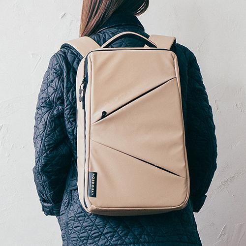 [에이지그레이]AGEDGRAY - AI06FAB Shadow 노트북 백팩 베이지