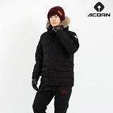 [에이콘]ACORN 하이드 패딩자켓 블랙 스키복/보드복 남녀공용