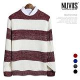 [뉴비스] NUVIIS - 네이처 단가라라운드니트 (SM017KN)