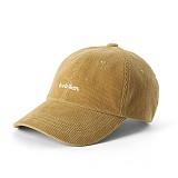 [버빌리안]BUBILIAN CORDUROY BALL CAP_BROWN 골덴 볼캡 야구모자