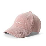 [버빌리안]BUBILIAN CORDUROY BALL CAP_PINK 골덴 볼캡 야구모자