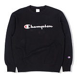 [챔피온]Champion - Basic Crewneck Sweat (C3-H004) Black 맨투맨 스��셔츠