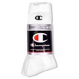 [챔피온]Champion - Socks White/Black 3pcs 롱양말 롱삭스 스포츠양말 양말