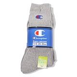 [챔피온]Champion - Socks Grey 3pcs 스포츠양말 양말