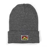 [벤데이비스]BEN DAVIS - Logo Beanie Charcoal Heather 비니