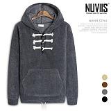[뉴비스] NUVIIS - 해비 양털 떡볶이 후드 (RM042HD)