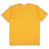 [챔피온]Champion - Basic T-Shirt (C3-H359) Yellow 반팔티