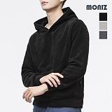 [모니즈]MONIZ 데일리 남여공용 후리스 후드티셔츠 FLE032