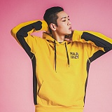 [마라하지]MALAHAZY INLINE Heavyweight Hoody YELLOW 인 라인 후디 후드