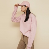 [프로젝트624]PROJECT624 STANDARD LOOSE FIT WARM MTM 스탠다드 루즈 기모맨투맨 핑크