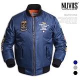 [뉴비스] NUVIIS - 에어 패치 항공점퍼 (RO026JP)