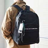 [해시35] HASH35 - Time Mesh Backpack (Black) 타임 메쉬 백팩