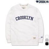 [크루클린] CROOKLYN 맨투맨 MRL457 크루넥 스��셔츠