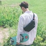 [스타일플랜] STYLEPLAN PAUL WAIST BAG (BLACK) 힙색 웨이스트백 가방