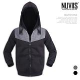 [뉴비스] NUVIIS - 사각엠보 양털 후드집업 (SP047HDZ)