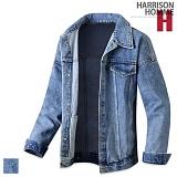 [해리슨] HARRISON 2057 오버핏 청자켓 GJ1096