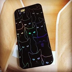 디팍스 - SIMSOO 하품하는 냥이 TWINKLE CASE 휴대폰케이스