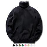 [뉴해빗]NUHABIT [N] - 폴라 맨투맨 터틀넥 목폴라 8color