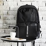 [지플랫] 블랙테일 백팩 (BLACK) 신학기 메쉬 가방 백팩