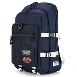 [핍스] PEEPS beginning backpack(navy)_메쉬백팩