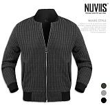 [뉴비스] NUVIIS - 레게골지 니트 블루종 (CS041JP)