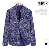 [뉴비스] NUVIIS - 스크래치 차이나 긴팔셔츠 (DP033SH)