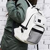 [복 EVENT][지플랫] GFLAT 모토 백팩 (WHITE)신학기 메쉬 가방 백팩