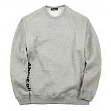 [어보브올]Above all Side logo MTM - Gray 사이드 로고 맨투맨 크루넥 스��셔츠