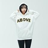[어보브올]Above all Above Logo Hoodie - Ivory 로고 후디 후드