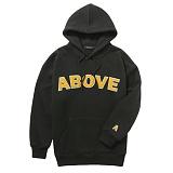 [어보브올]Above all Above Logo Hoodie - Black 로고 후디 후드