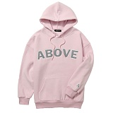 [어보브올]Above all Above Logo Hoodie - Pink 로고 후디 후드
