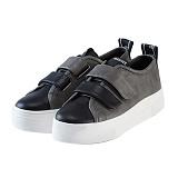 [제이아셀] JEASHER - Classic JS-103 그레이 신발 벨크로 스니커즈